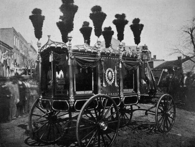 Экипаж Авраама Линкольна. США, 1865 год.