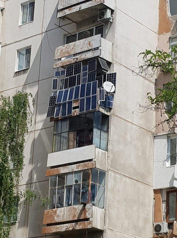 Вроде, ещё парочка солнечных панелей поместится