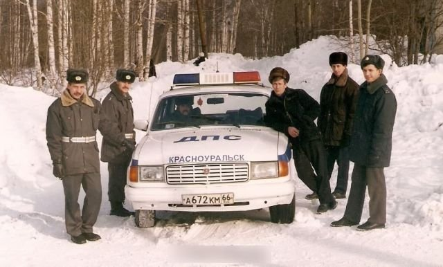 ГАЗ-31029 Волга на службе ДПС, середина 90-х