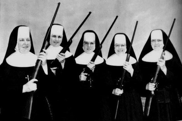 Ватиканская стрелковая команда. Фото 1937-го года.