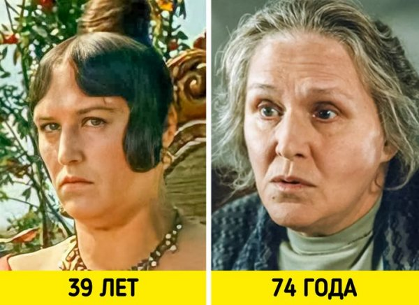 Нонна Мордюкова — «Женитьба Бальзаминова» (1964) и «Мама» (1999)