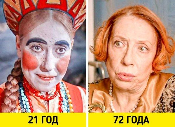 Инна Чурикова — «Морозко» (1964) и «Страна ОЗ» (2015)