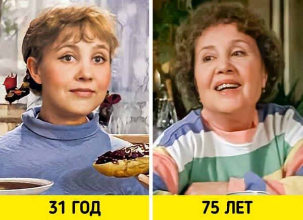 Надежда Румянцева — «Девчата» (1961) и «Нечаянная радость» (2005)