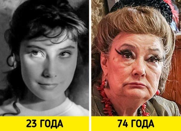 Татьяна Самойлова — «Летят журавли» (1957) и «Нирвана» (2008)