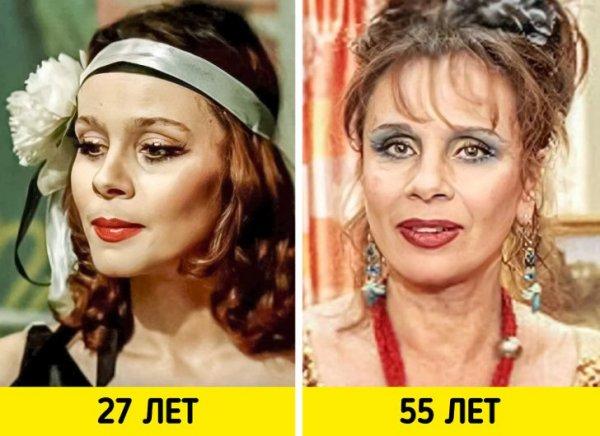 Любовь Полищук — «12 стульев» (1976) и «Моя прекрасная няня (2004)»