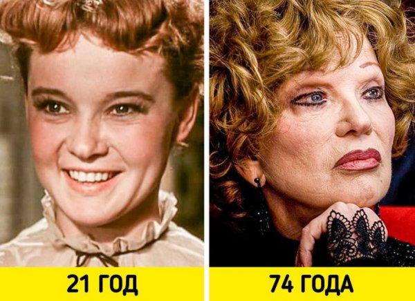 Людмила Гурченко — «Карнавальная ночь» (1956) и «Пестрые сумерки» (2009)