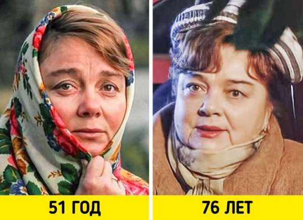 Нина Дорошина — «Любовь и голуби» (1985) и «Гаражи» (2010)