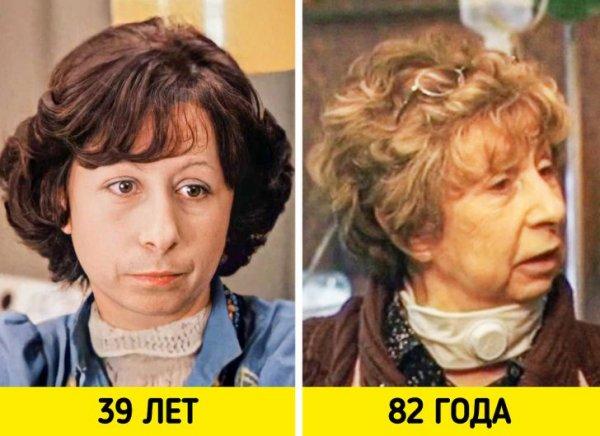 Лия Ахеджакова — «Служебный роман» (1977) и «Этаж» (2020)