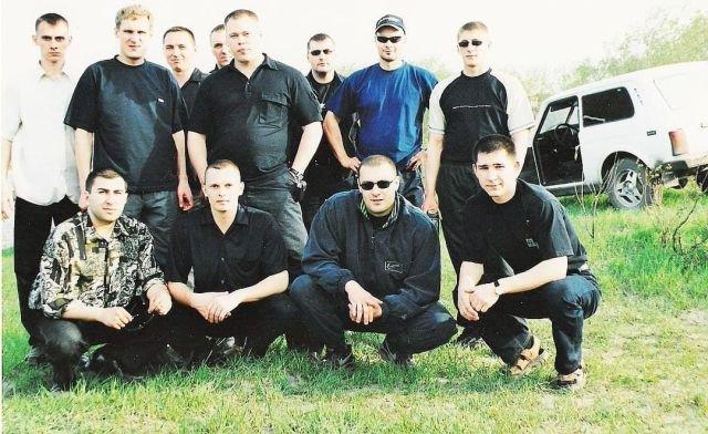 Архивный снимок членов воркутинской группировки Ифы - Козлова