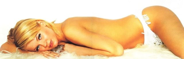 Российская модель Ирина Ортман, 2004 г.