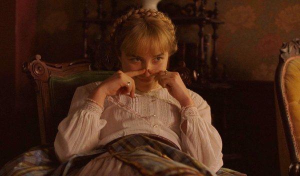 Флоренс Пью в роли Эми Марч, «Маленькие женщины»