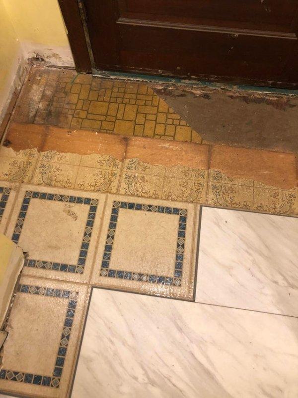 Все полы, которые были сделаны в этом доме с 1880 года