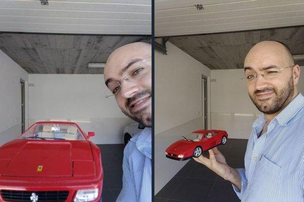 Как вам моя шикарная машина?