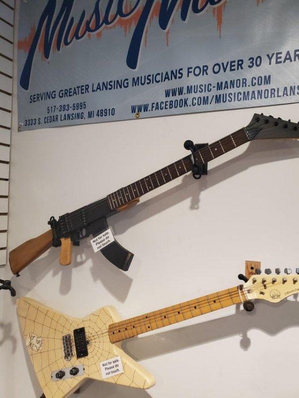 Гитара-АК-47