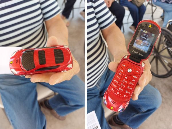 Да, это телефон, и он отлично выполняет свою функцию