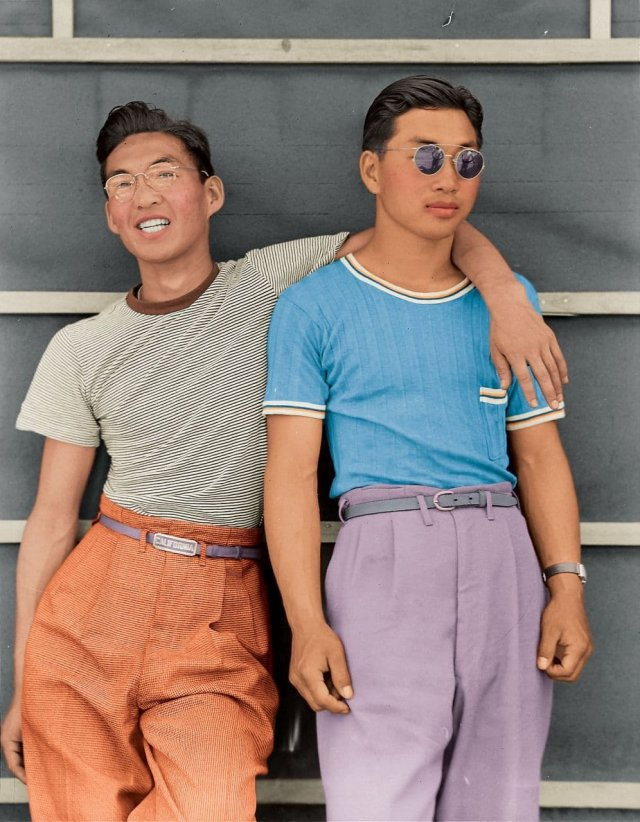Студенты, США, 1942 год