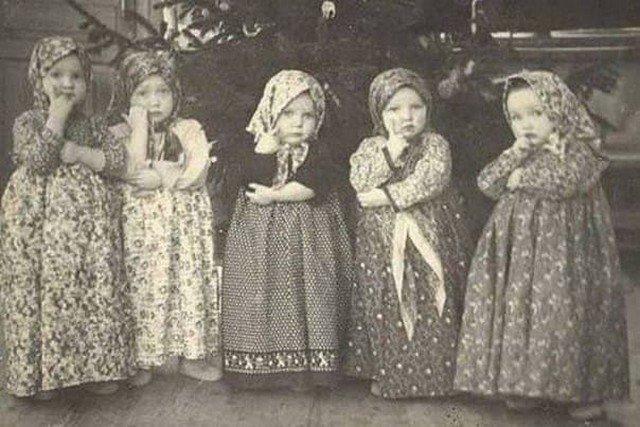 Утренник в детском саду. СССР.1952 год.