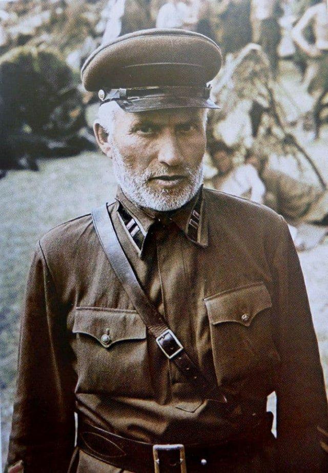 Портрет командира-артиллериста РККА в немецком плену. 16 июля 1941 года.
