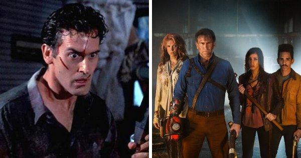 Зловещие мертвецы — 3 фильма и 1 сериал