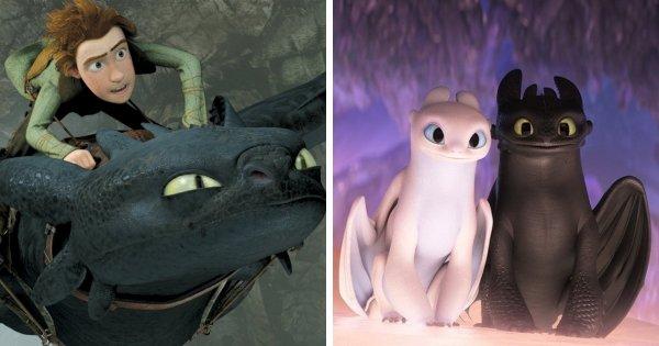 Как приручить дракона — 3 мультфильма