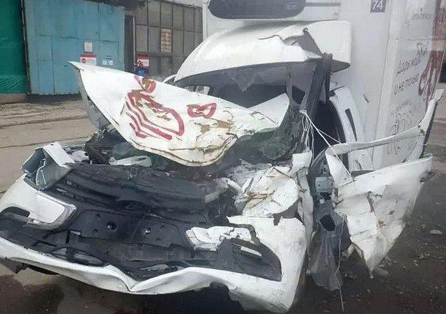 """На """"Авито"""" продают машину, в которую врезался пьяный Михаил Ефремов"""