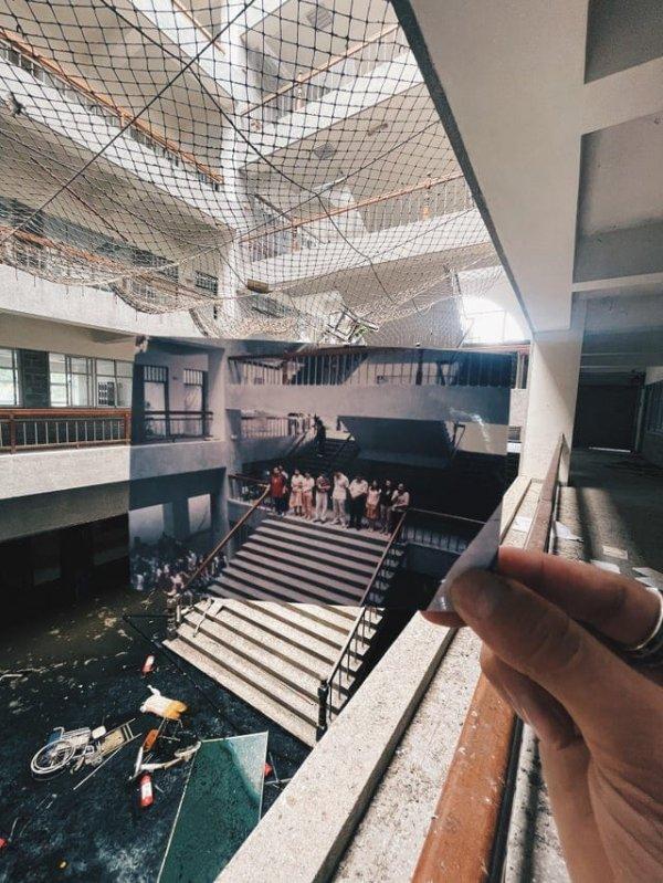 Девушка показала, какой раньше была её школа в Тайване