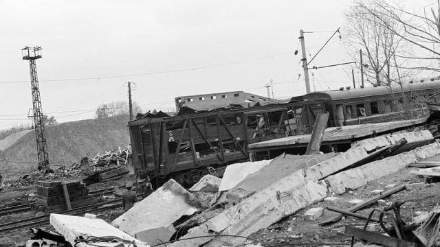 Катастрофа на станции Свердловск-Сортировочный. 4 октября 1988 года