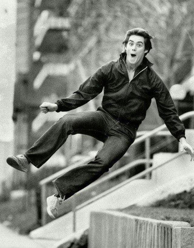 Джим Керри, 1981 г.