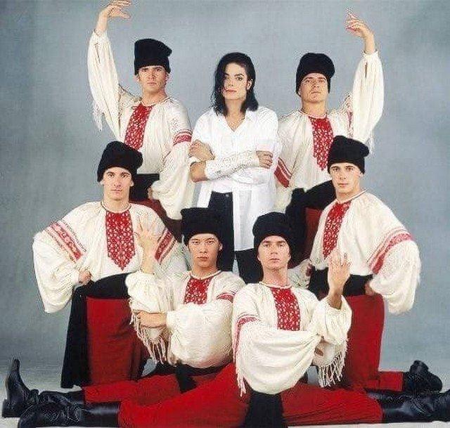 Майкл Джексон и Казаки, 90-ые