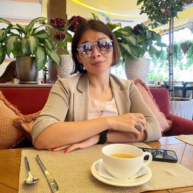 Ксения Шойгу на завтраке