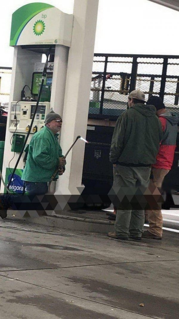 Бензин и огонь рядом — что может пойти не так?