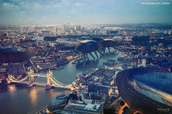 «Ходячий город», Лондон