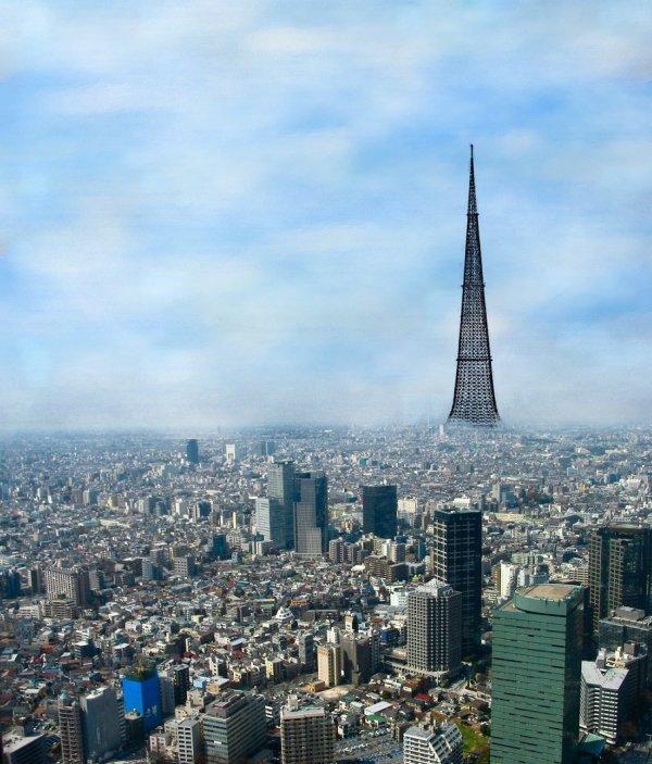 Башня Никитина — Травуша 4000, Токио