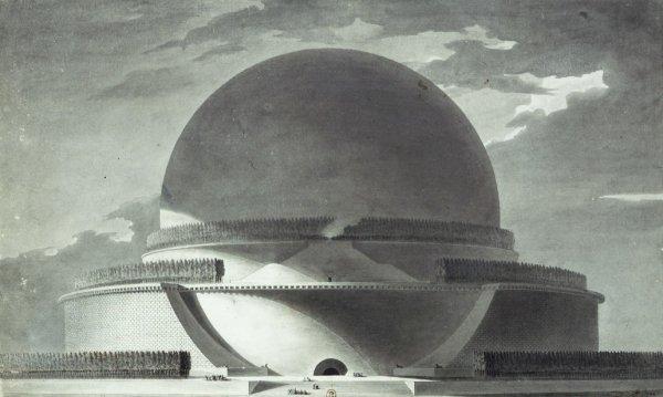 Кенотаф Исаака Ньютона во Франции