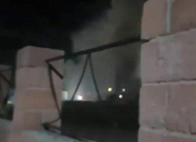 В Стерлитамаке в честь Дня Химика устроили салют, который закончился пожаром