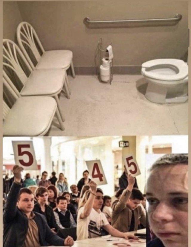 Шутки и мемы про школьные туалеты России из конкурса компании по производству бытовой химии