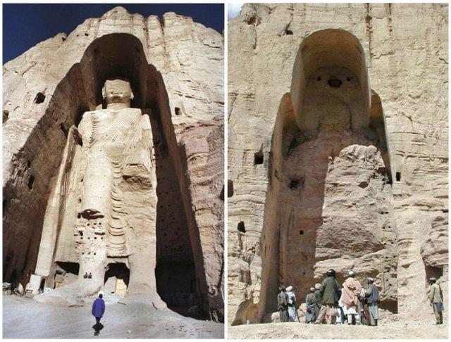 Статуи Будды в Афганистане