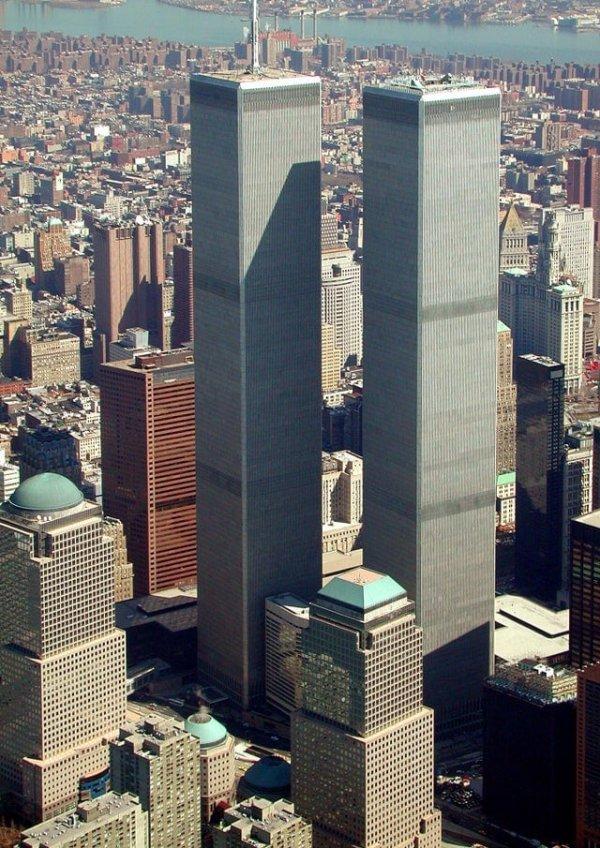 Всемирный торговый центр. Нью-Йорк, США