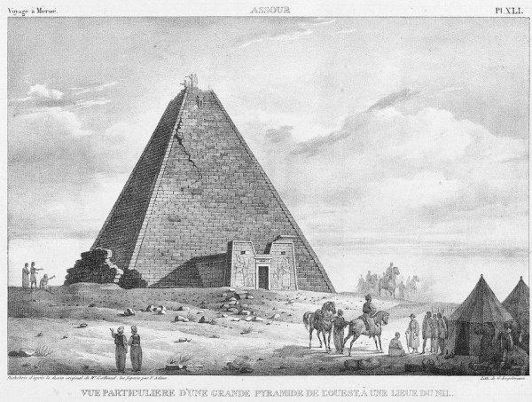 2000-летняя пирамида N6 в Судане