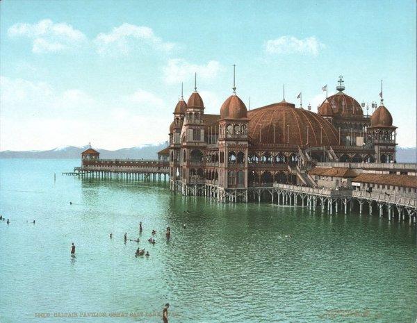 Курорт «The Saltair Pavilion» 1900-1925 гг.