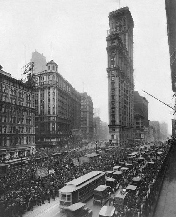 Таймс-сквер (1919 г.) До всех ремонтов и появления рекламных щитов