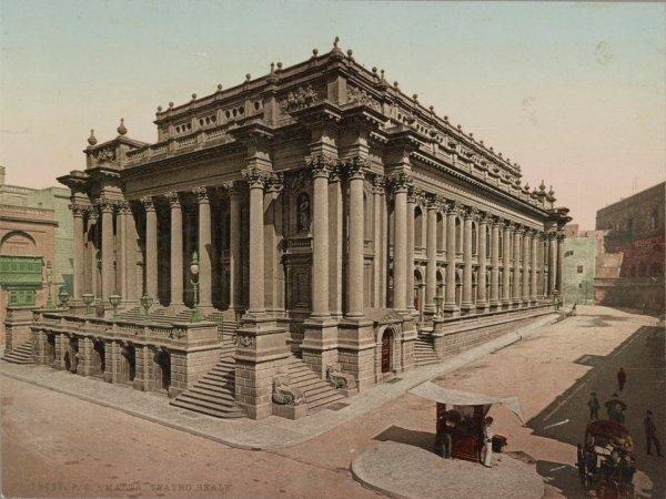 Королевский оперный театр в Валлетте, Мальта (1911 г.)