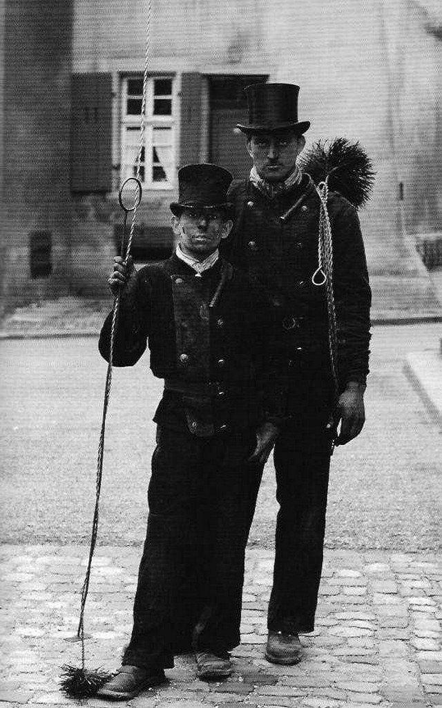 Династия лондонских трубочистов. Великобритания, Лондон, начало 20 века