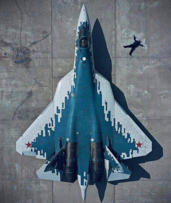 Су-57 и человек