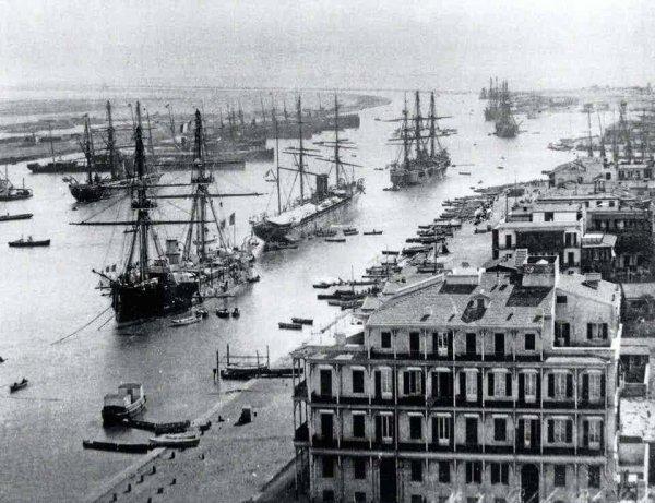 Судоходство по Суэцкому каналу, 1880-е годы