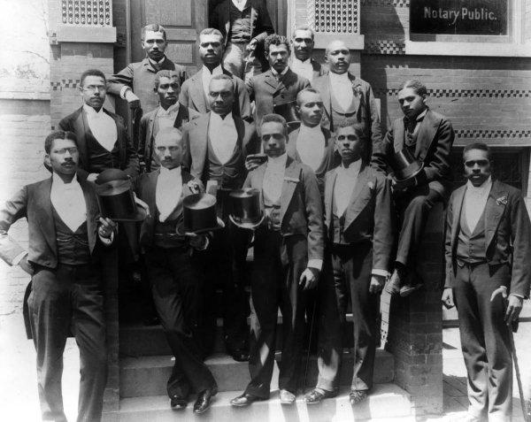 Выпускники Говардского университета, США, 1900-е годы