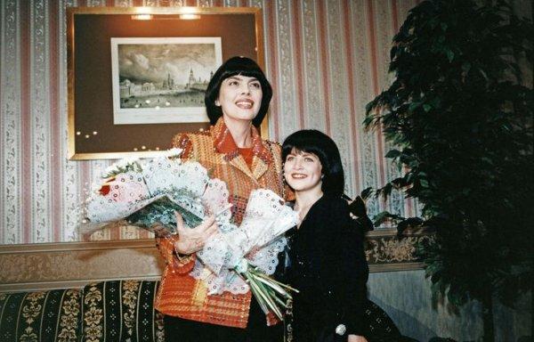 Мирей Матье с поклонницей