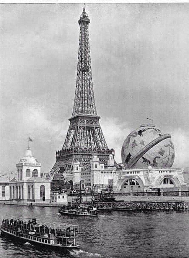 Пapиж, 1900 год