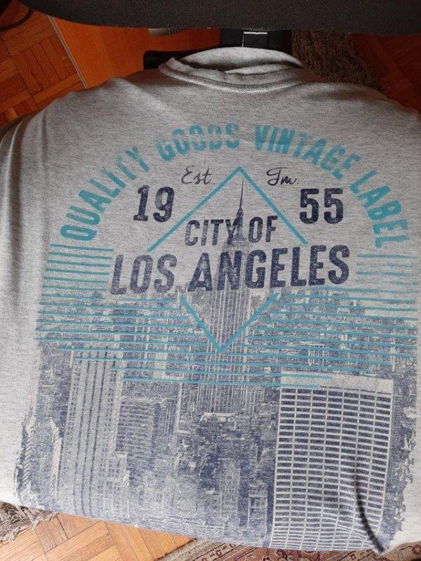 Написано Лос-Анджелес, а изображен Нью-Йорк