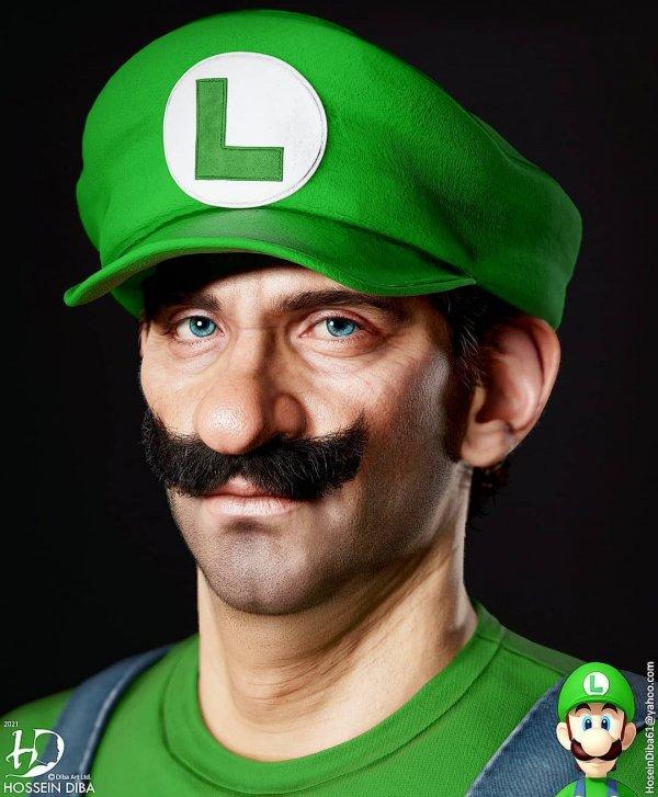 Луиджи — младший брат Марио